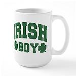 Irish Boy Large Mug