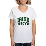 Irish Boy Women's V-Neck T-Shirt