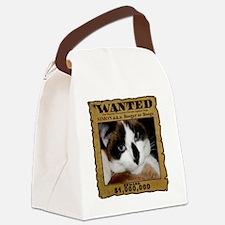 SimonWantedTRANS Canvas Lunch Bag