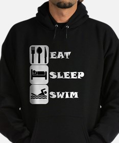 Eat Sleep Swim Hoodie