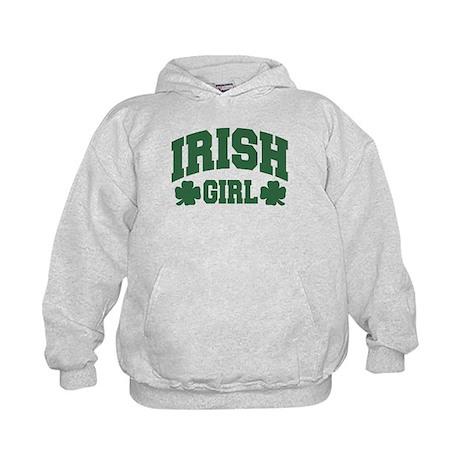 Irish Girl Kids Hoodie