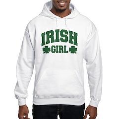 Irish Girl Hooded Sweatshirt