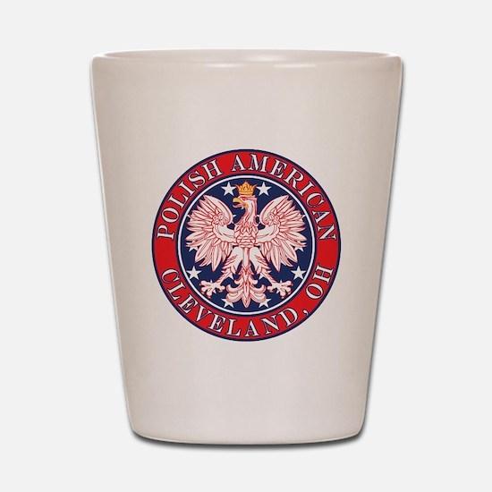 Cleveland Ohio Polish Shot Glass