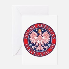 Cleveland Ohio Polish Greeting Card