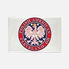 Cleveland Ohio Polish Rectangle Magnet