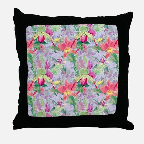 beautifulfloralsipads Throw Pillow
