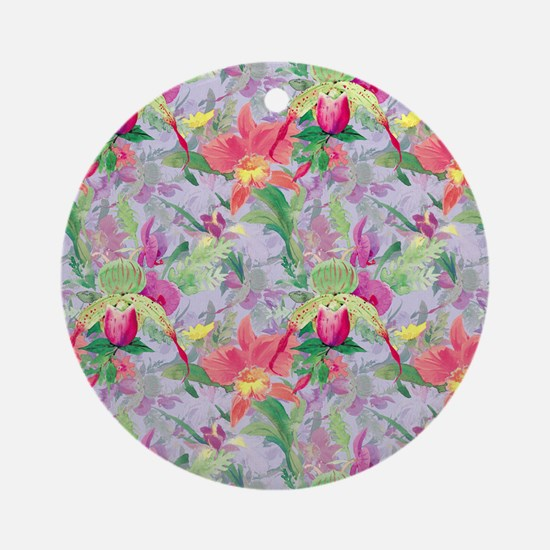 beautifulfloralsipads Round Ornament