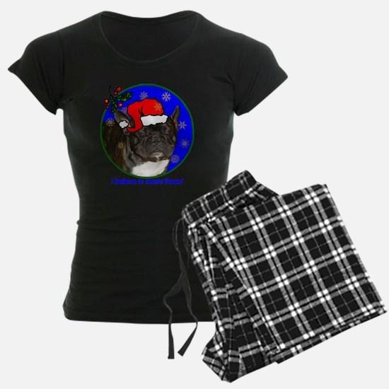 frenchbulldogblackxmas-shirt Pajamas
