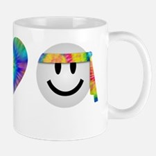 peace-love-t-shirt-black Mug