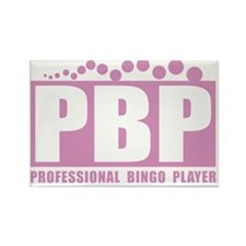 profbingoplayer_pink Rectangle Magnet