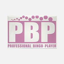 profbingoplayer_pink Rectangle Magnet