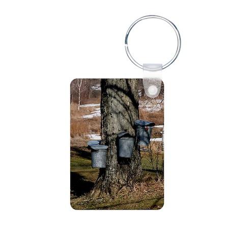 buckets Aluminum Photo Keychain