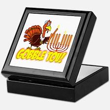 Gobble Tov Thanksgivukkah Turkey and Menorah Keeps