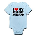 I Love My Irish Husband Infant Bodysuit