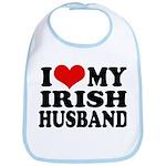 I Love My Irish Husband Bib