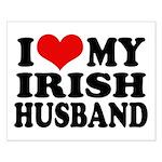 I Love My Irish Husband Small Poster