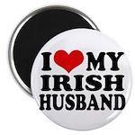 I Love My Irish Husband Magnet