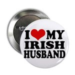 I Love My Irish Husband Button