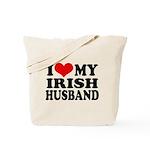 I Love My Irish Husband Tote Bag