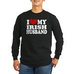 I Love My Irish Husband Long Sleeve Dark T-Shirt