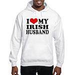 I Love My Irish Husband Hooded Sweatshirt