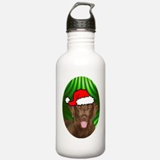 chesbayxmas-oval Sports Water Bottle
