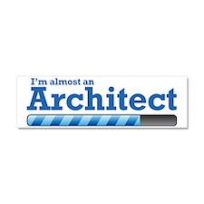 architect Car Magnet 10 x 3
