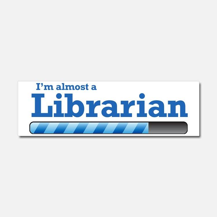 librarian Car Magnet 10 x 3