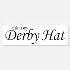 derby_hat Bumper Bumper Sticker