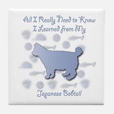 Learned Bobtail Tile Coaster