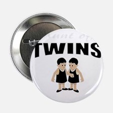 """cute aunt of twin girls 2.25"""" Button"""
