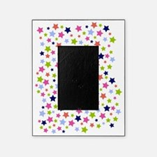 Colorful Star Pattern Picture Frame