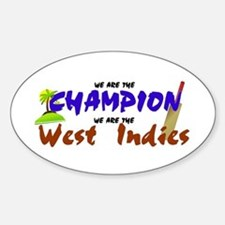 Champion West Indies Oval Decal