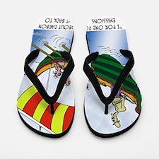 8177_carbon_cartoon Flip Flops