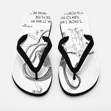 0902_water_cartoon Flip Flops