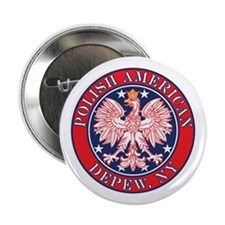 "Depew New York Polish 2.25"" Button (100 pack)"