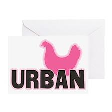 chickenurban Greeting Card