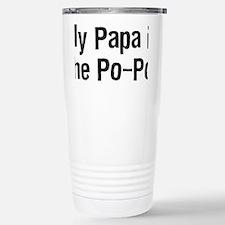 PapaPoPoTeeBlack Travel Mug