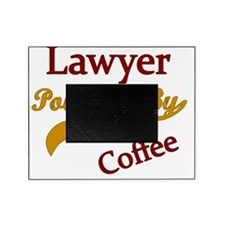 lawyer Powered by coffee Picture Frame