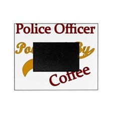 Police  Powered by coffee Picture Frame