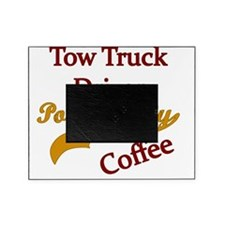 tow  Powered by coffee Picture Frame