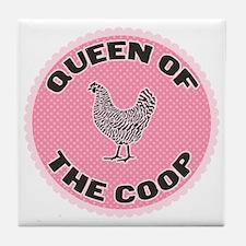 queen-1 Tile Coaster