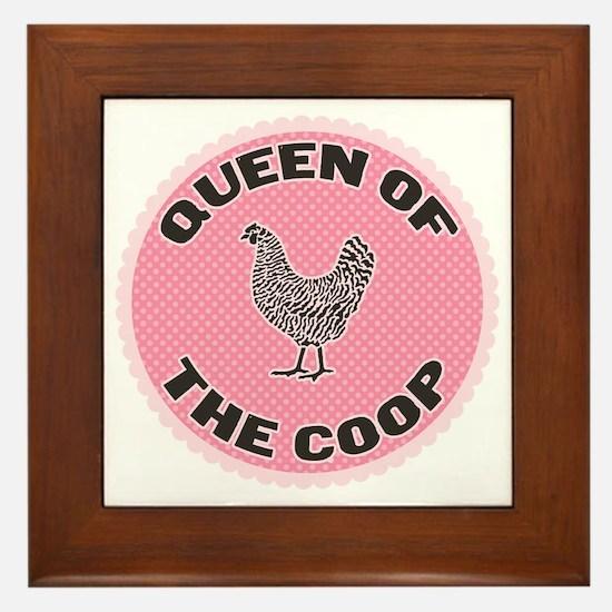 queen-1 Framed Tile