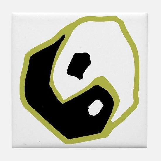 tai9colored Tile Coaster