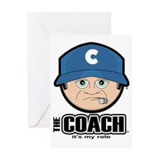 The Coach Greeting Card