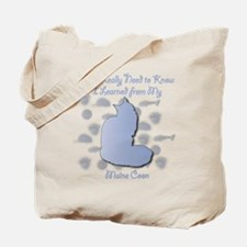 Learned Coon Tote Bag