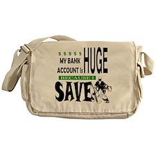Bank Account Messenger Bag