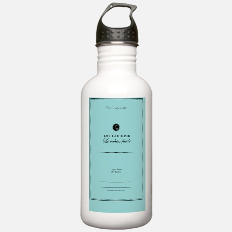 Cahier2 Water Bottle