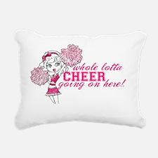 Cheer_Pink-01 Rectangular Canvas Pillow
