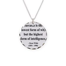Oscar Wilde 29 btext Necklace